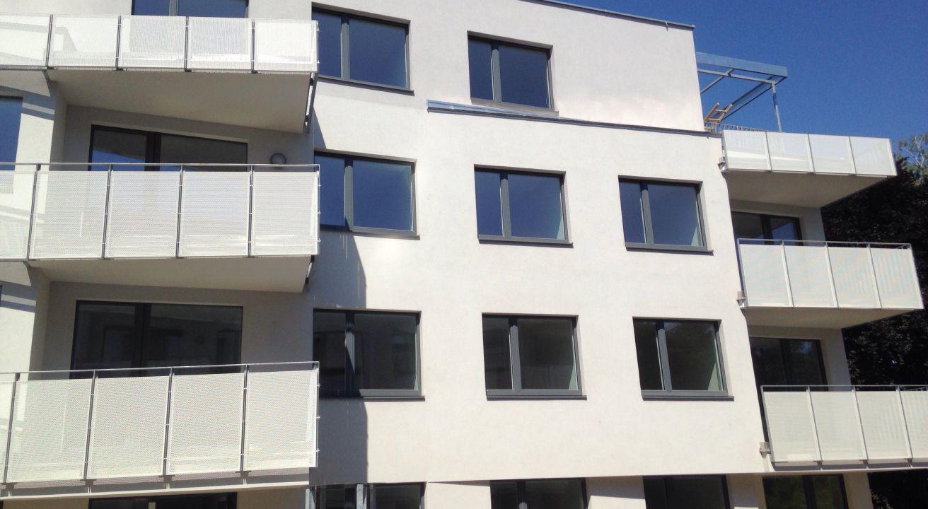 Passivhaus-Wohnanlage mit Kindertagesstätte Grellgasse, Wien (A)